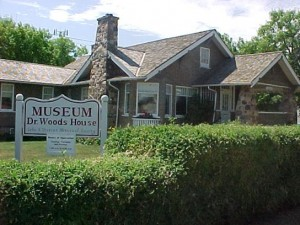 Dr. Woods House Museum in Leduc, Alberta